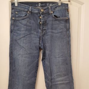 jeans Men,Distressed Relaxed 7 for all mankind